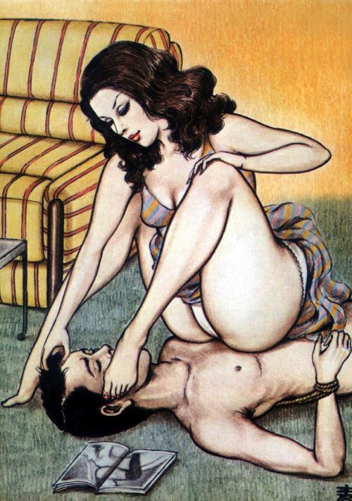Рисунки сексуальные женская доминация