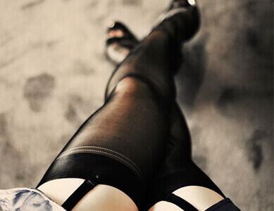Фетиш фото. Нейлон, копрон - чулки и колготки на женском теле. Часть 2