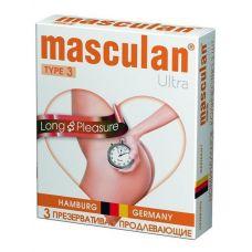 Презервативы Masculan-3 Ultra с анес..