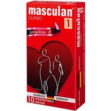 Презервативы Masculan Classic нежные..