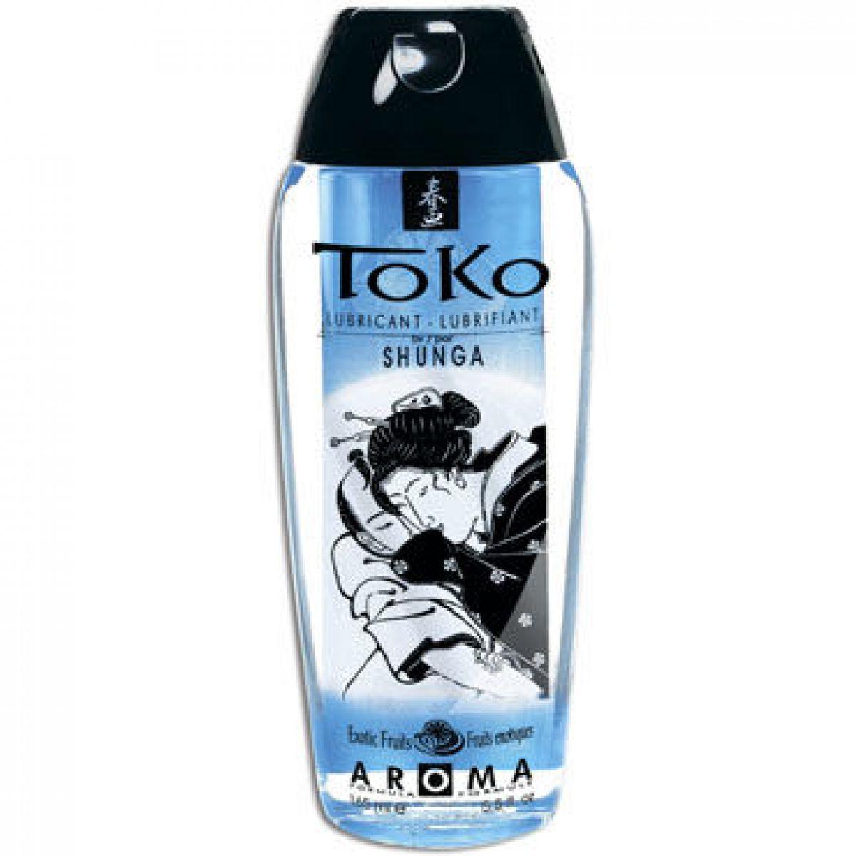 Лубрикант Shunga Toko Aroma с ароматом экзотических фруктов 165 мл