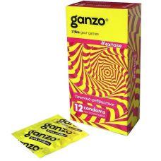 Презервативы Ganzo extase точечно-ре..
