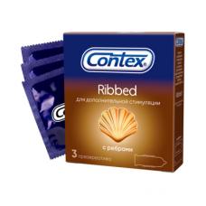 Презервативы Contex №3 Ribbed с ребр..