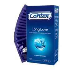 Презервативы Contex №12 Long Love с ..
