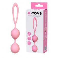 Вагинальные шарики A-Toys силиконовы..