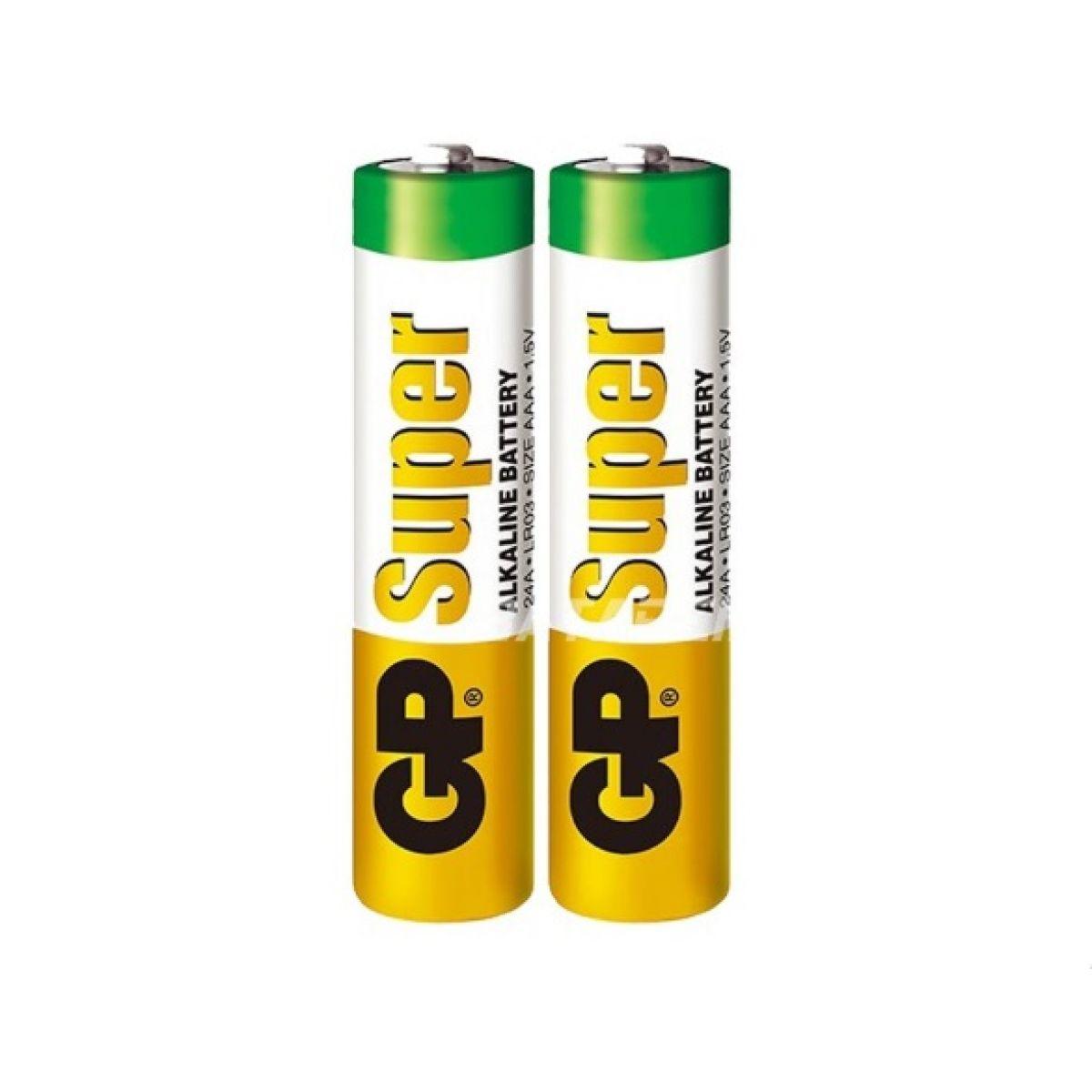 Батарейки GP SUPER мизинчиковые AAA 2 шт