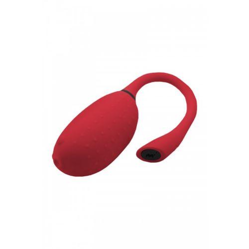 Смарт-вибратор и тренажер Кегеля с Bluetooth-управлением Magic Motion Fugu, красный