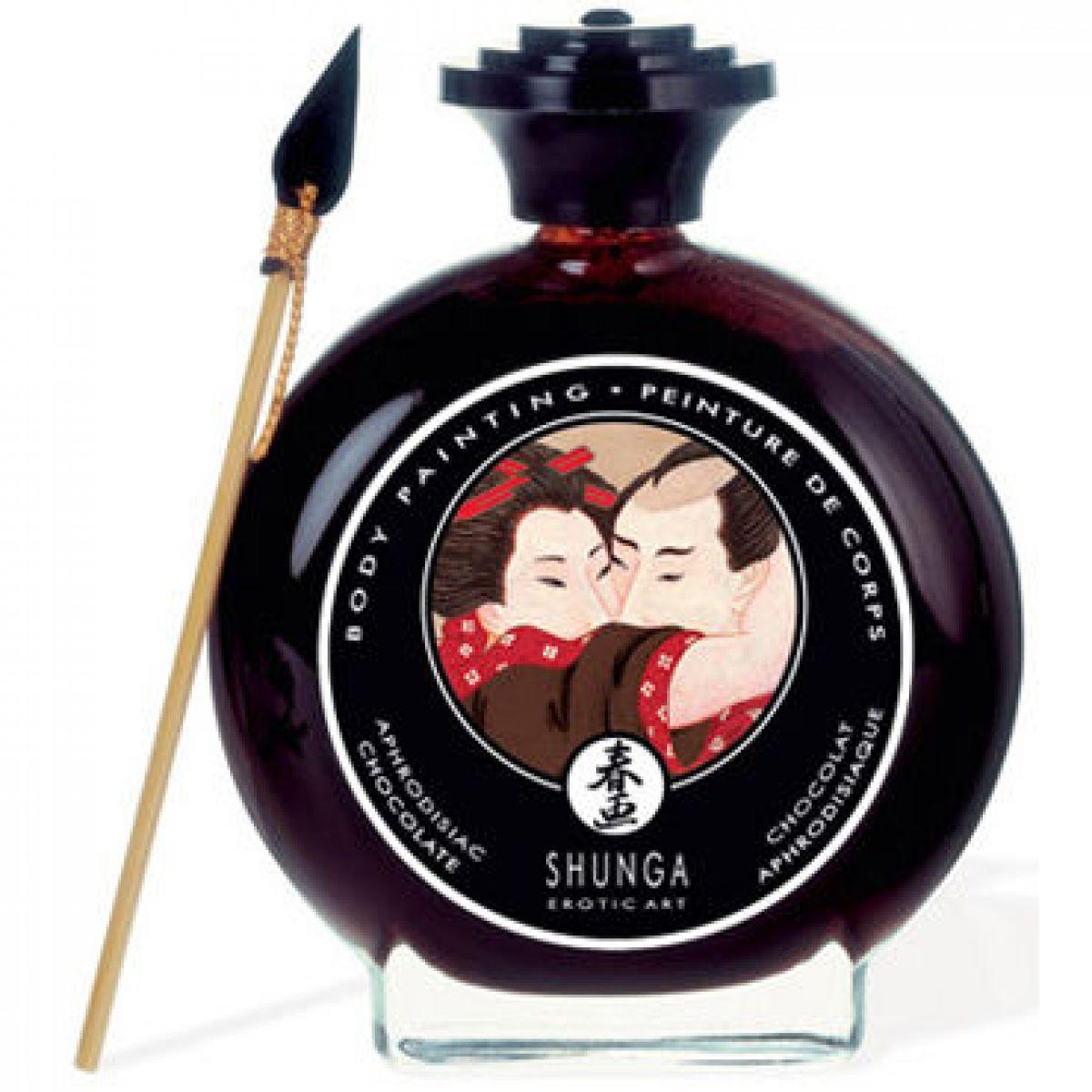Крем-краска для тела Shunga Эротический шоколад, 100 мл