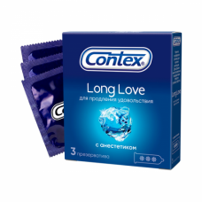 Презервативы Contex №3 Long Love с а..