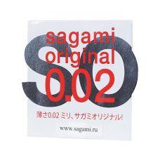 Полиуретановые презервативы Sagami Original 0,02 1 шт...