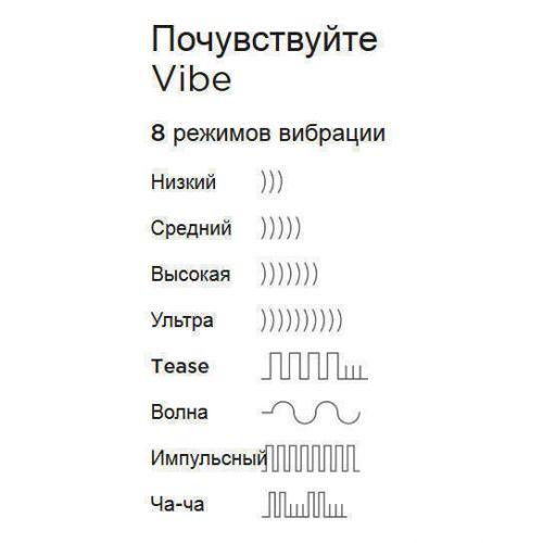 Вибромассажер We-Vibe Touch фиолетовый