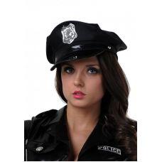 Фуражка полицейского черная..