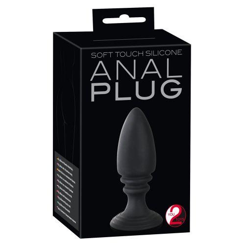 Черная анальная пробка Analplug
