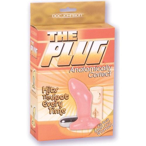 Обычная анальная пробка The Plug