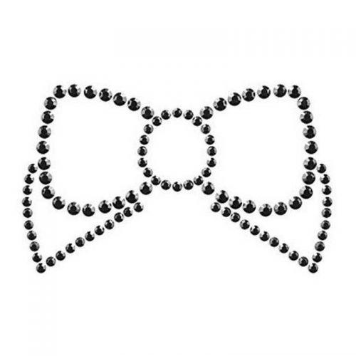 Пэстисы Bijoux Mimi Bow Black черные