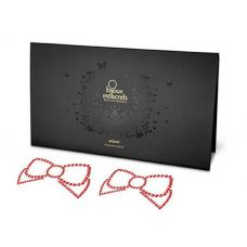 Пэстисы Bijoux Mimi Bow Red красные..