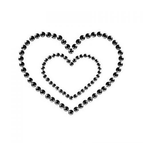 Пэстисы Bijoux Mimi Heart Black черные