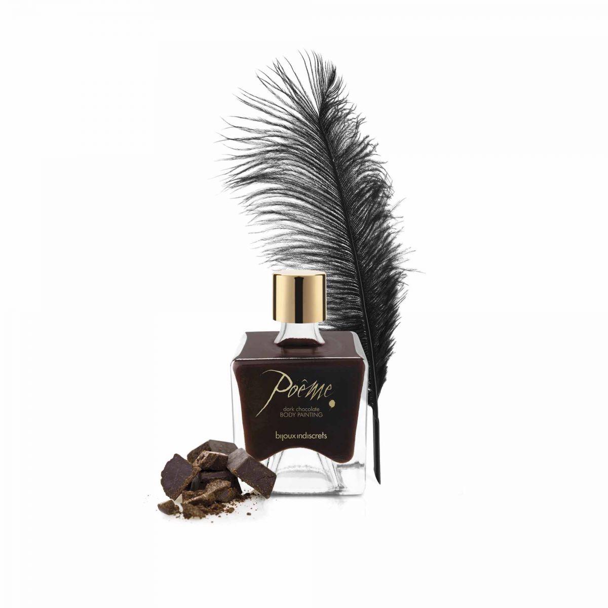 Bijoux Indiscrets Краска для тела Poеme - Dark Chocolate