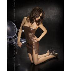 Эротический коричневый комплект Ness..
