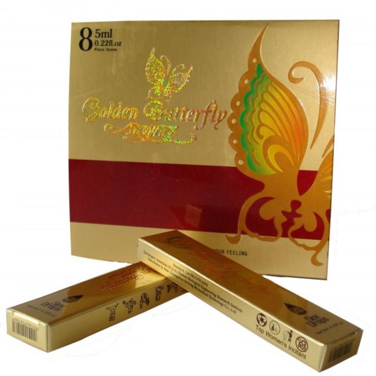 Возбуждающие капли Золотая Бабочка Golden Butterfly 5 мл