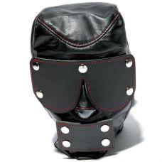 Черная маска с шорами на глаза и рот..