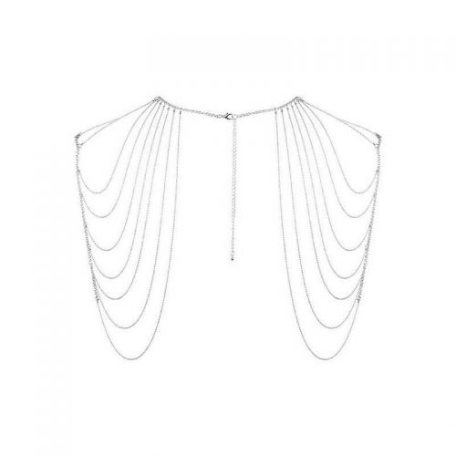 Бикини-цепочка Bijoux Magnifique Chain Shoulders Back Jewelry Silver серебристая