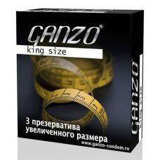Презервативы Ganzo King Size №3 увел..