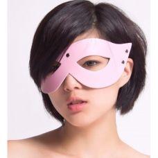БДСМ маска розовая..