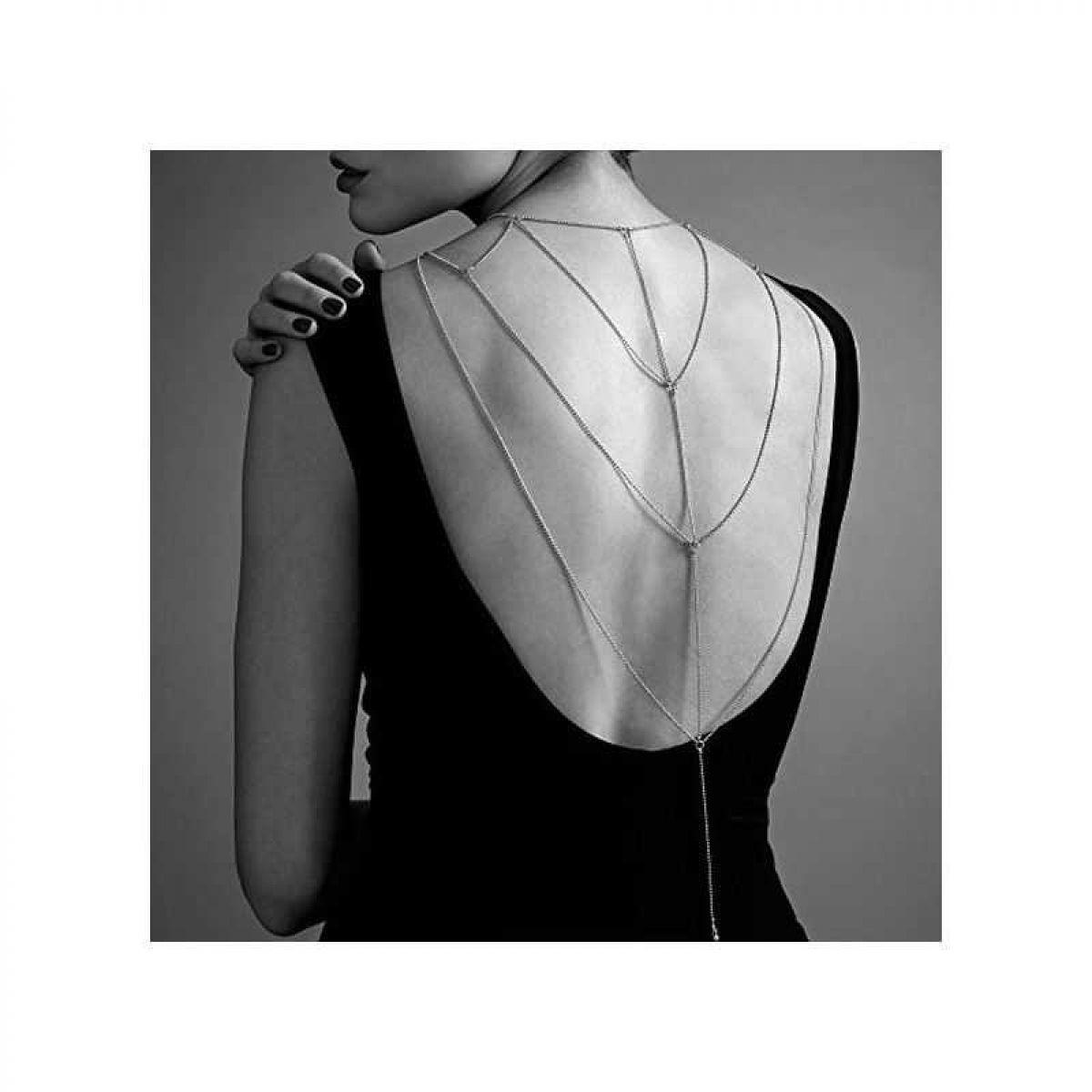 Бикини-цепочка Bijoux Magnifique Back and Cleavage Chain золотая