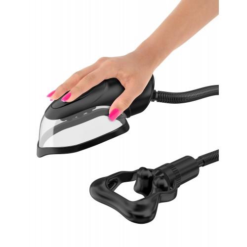 Вакуумная помпа с вибрацией FF Series Perfect Touch Vibrating Pussy Pump Black