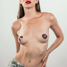 Пэстисы-сердечки Burlesque Rand розо..