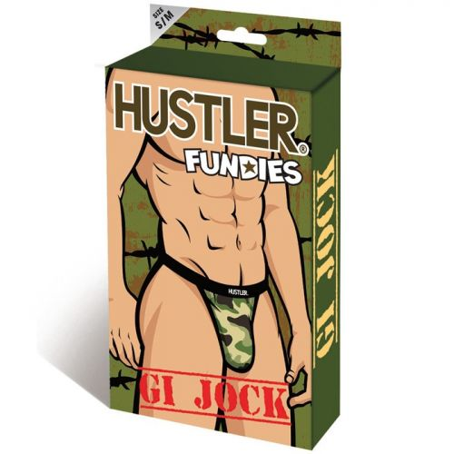 Стринги Hustler Fundies хаки ML