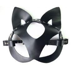 Соблазнительная кожаная маска-котик ..