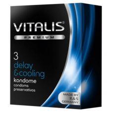 Презервативы Vitalis №3 Delay coolin..