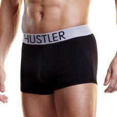 Черные мужские боксеры Hustler на ши..