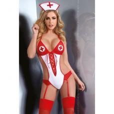 Эротическое боди сексуальной медсест..