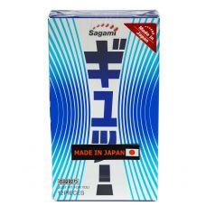 Презервативы c волнообразной текстурой Sagami 6 Fit V 12 шт