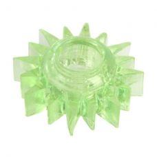 Эластичное зеленое кольцо для эрекции Toyfa