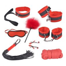 Красный бондажный набор Taboo Access..