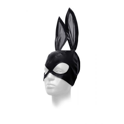 Маска кролика черная