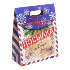 Подарочный пакет Посылка от Деда Мороза ML..