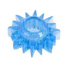 Эластичное голубое кольцо для эрекци..