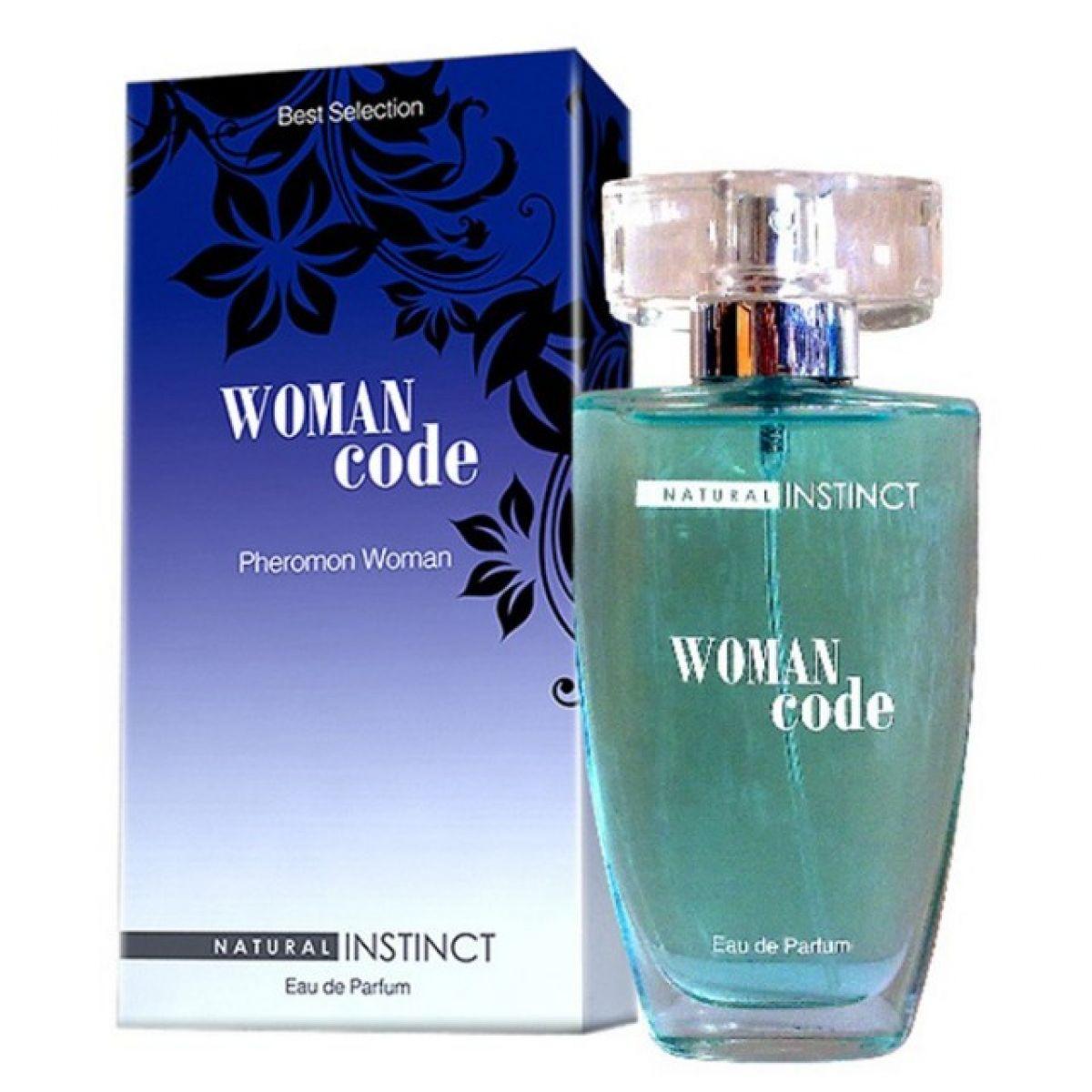Парфюмерная вода с феромонами Natural Instinct Woman Code женская 50 мл