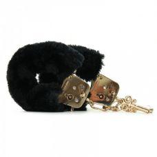 Наручники FF Gold Deluxe Furry Cuffs..