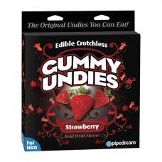 Съедобные трусики для мужчин Male Gummy Undies Strawbe..