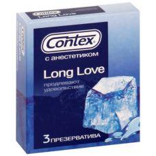 Презервативы Contex №3 Long Love с анестетиком..