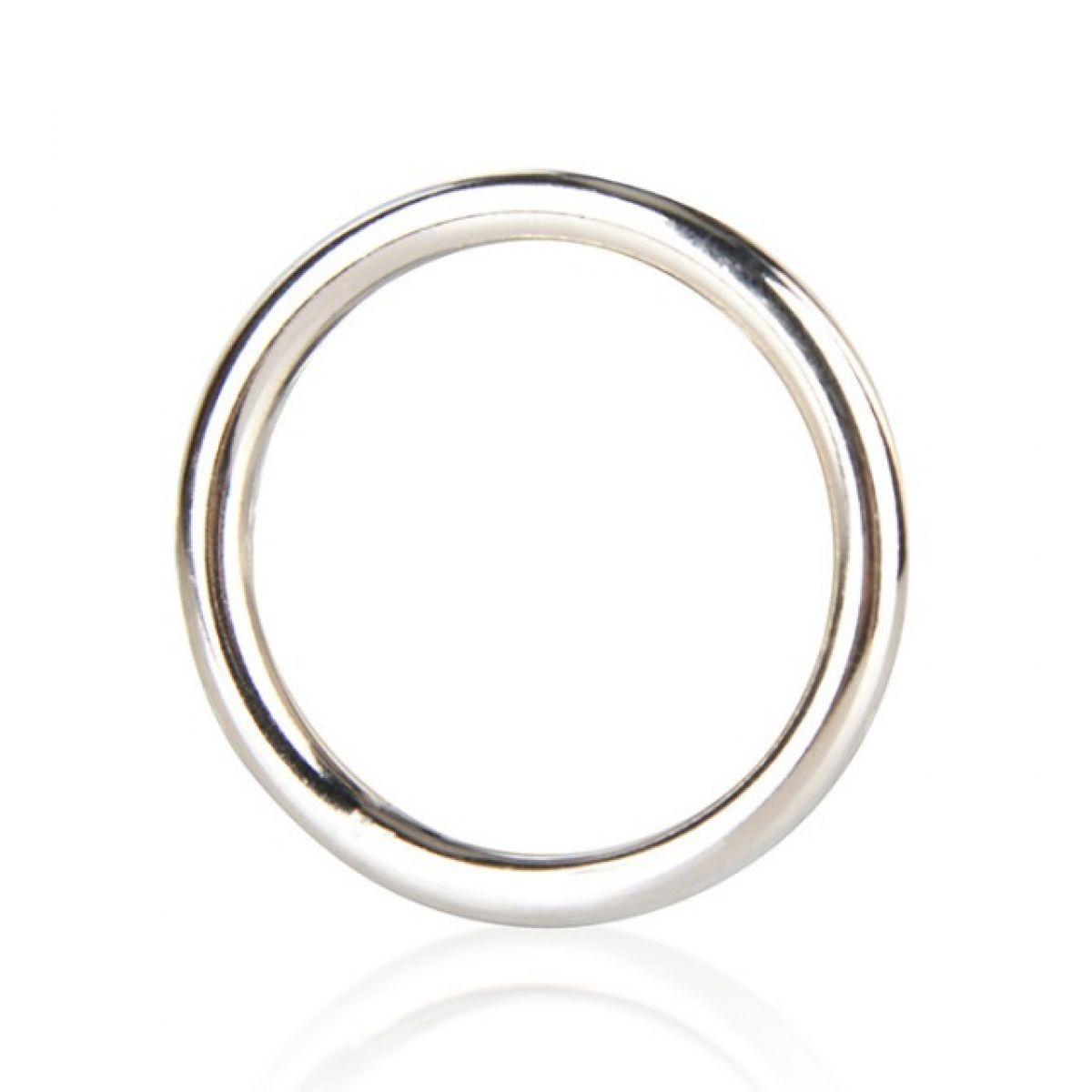 Стальное эрекционное кольцо 5,2 см Steel Cock Ring