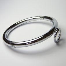 Стальной ошейник с кольцом..