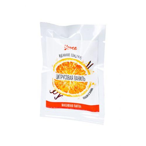 Плитка для массажа Yovee By Toyfa Идеальное свидание с ароматом апельсин и ваниль, 10 гр