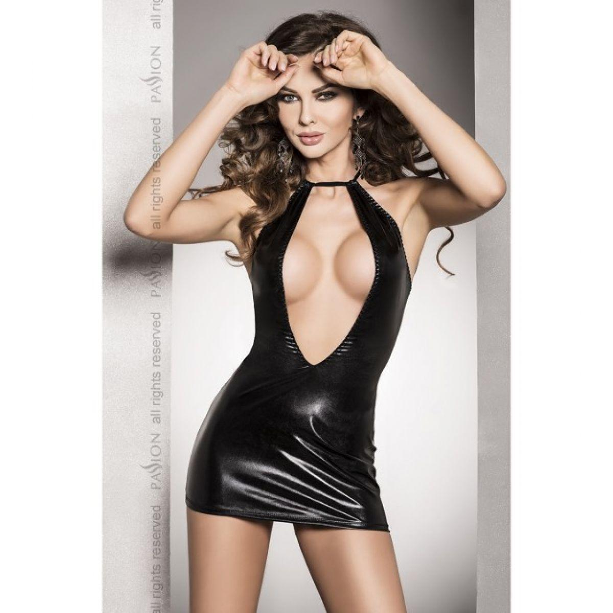 Соблазнительное черное платье Femi L/XL